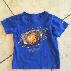 Boys Nike football T-shirt